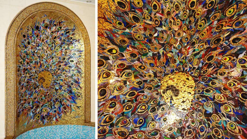 Сделать картину из мозаики своими руками 80